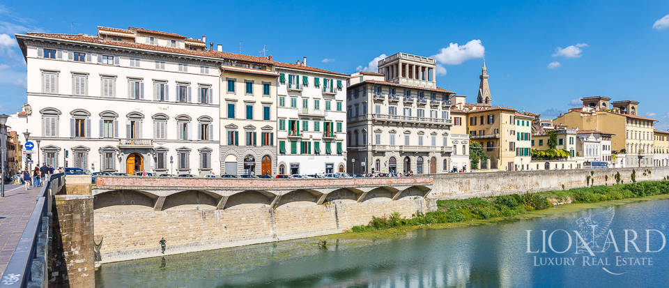 stunning apartment for sale besides the river arno