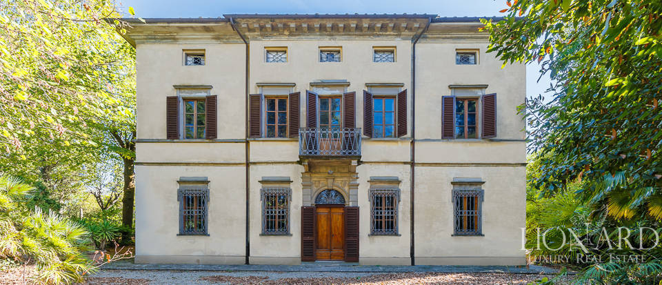 historical villa for sale among empoli's hills