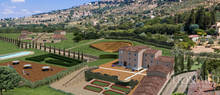 prestigious complex for sale in cortona