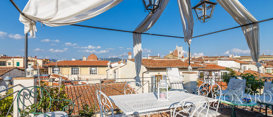luxurious penthouse for sale in the heart of florence