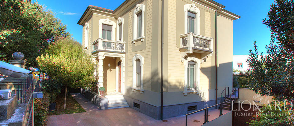 art-nouveau villa for sale in voghera
