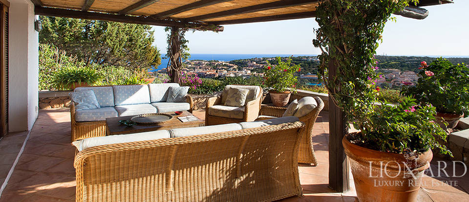 wonderful villa by porto cervo's sea