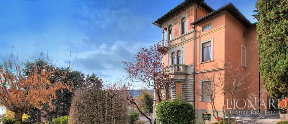 wonderful art nouveau villa for sale in salo