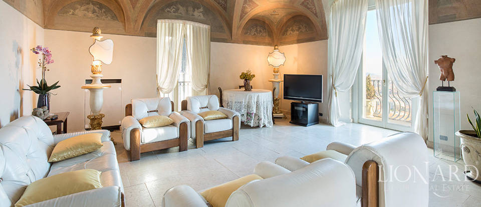 wonderful apartmnt for sale in bergamo alta