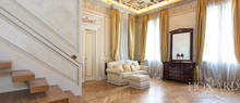 elegant apartment with a terrace in the heart of milan