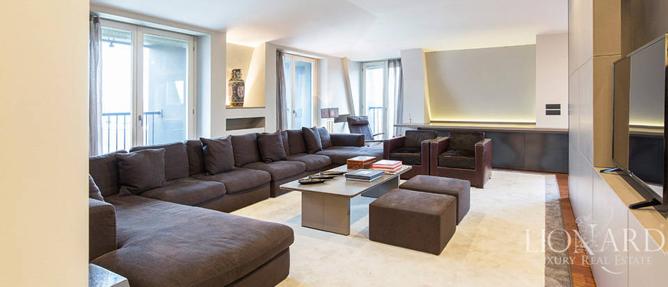 Penthouse for sale in the heart of Milan Image 1