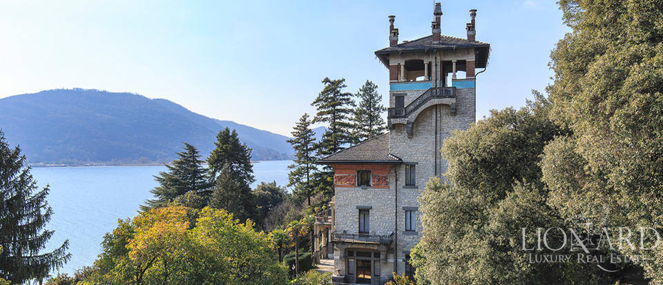 art nouveau villa for sale by lake iseo