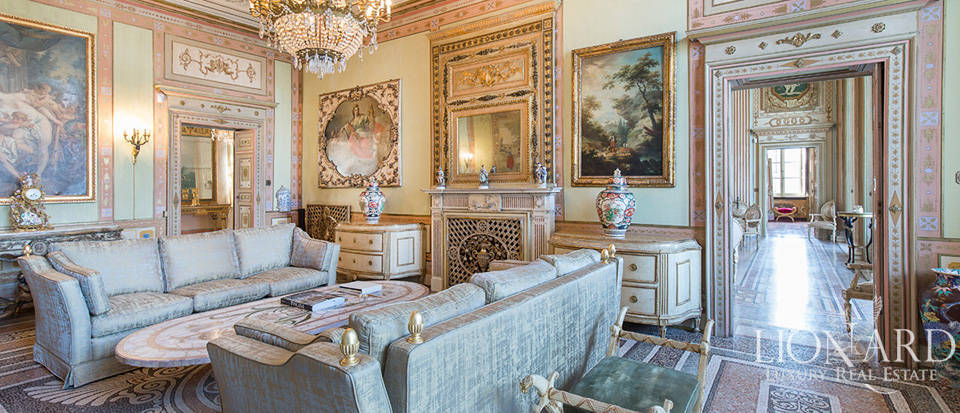 Historical villa in Turin for sale Image 35