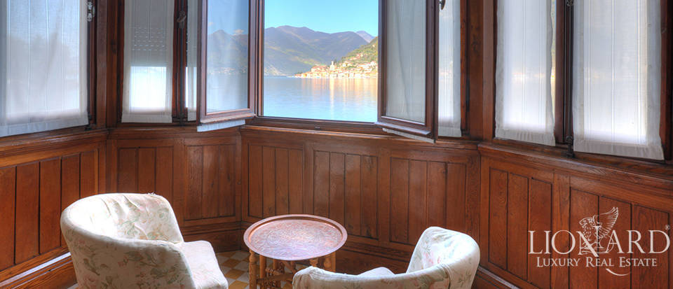 Lake-front villa for sale by Lake Iseo Image 19
