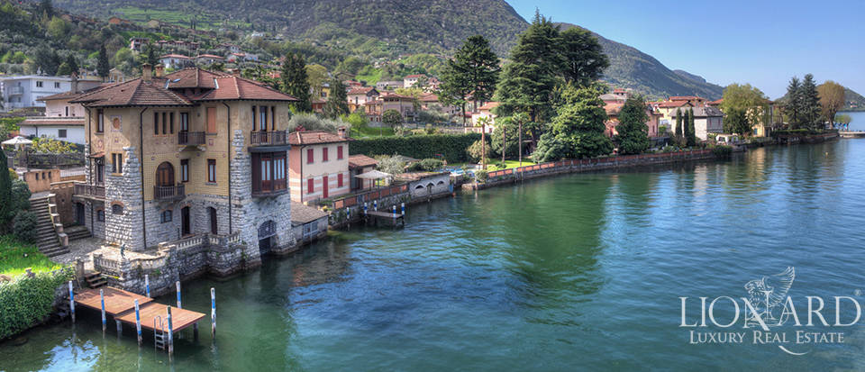 Lake-front villa for sale by Lake Iseo Image 2