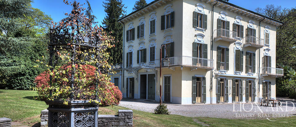 exclusive luxury villa for sale in varese