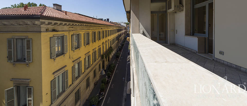 Apartment with terrace in Montenapoleone Image 1