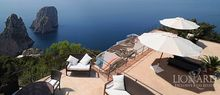 italian luxury villa sea capri