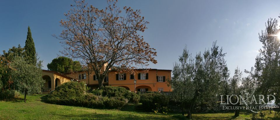 Luxury villas in tuscany lionard for Real estate in florence italy