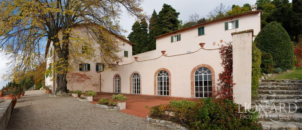 Luxury villa florence lionard for Real estate in florence italy