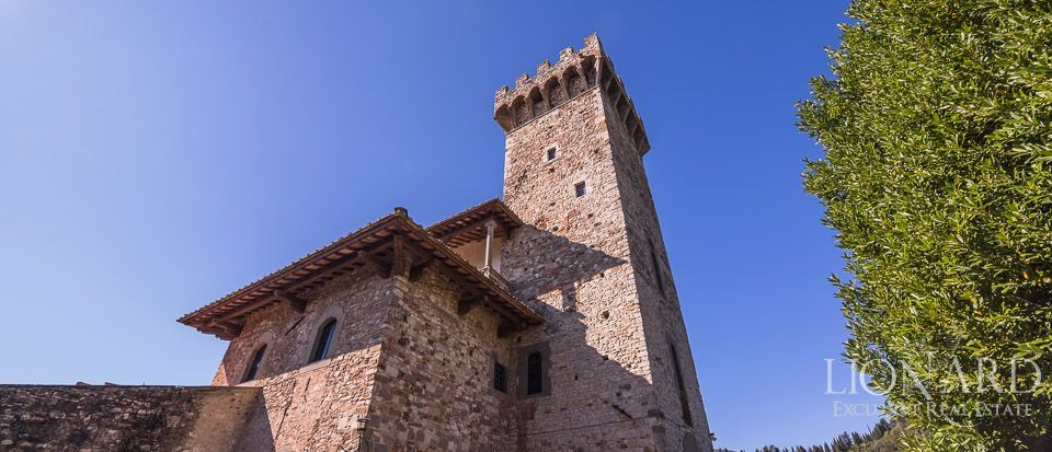 Castle for Sale in Tuscany, in the Chianti area Image 32