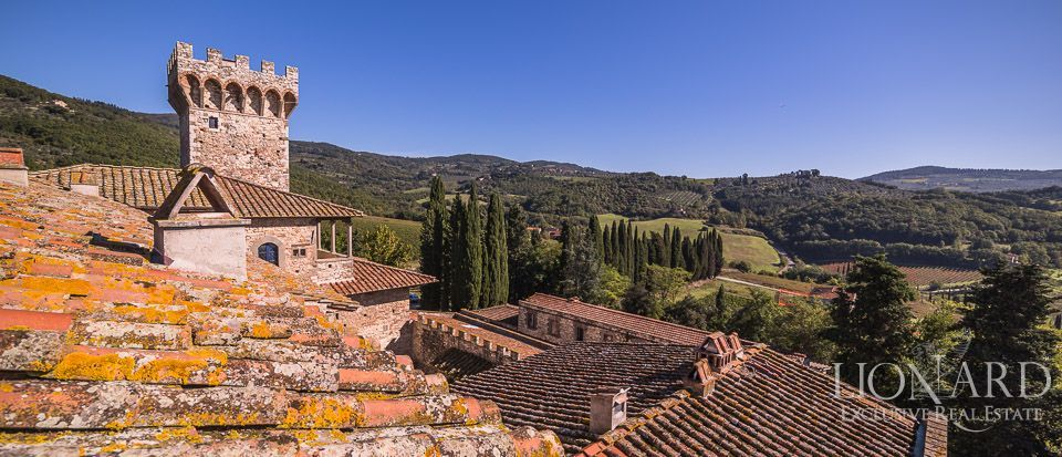 Castle for Sale in Tuscany, in the Chianti area Image 25