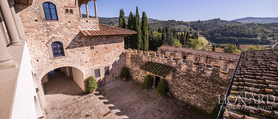 Castle for Sale in Tuscany, in the Chianti area Image 20
