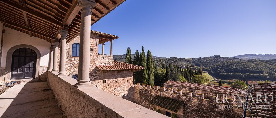 Castle for Sale in Tuscany, in the Chianti area Image 19
