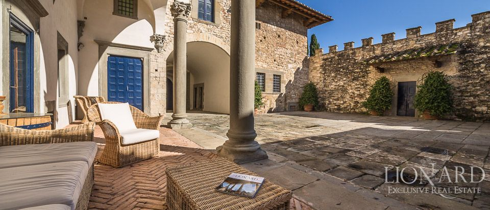 Castle for Sale in Tuscany, in the Chianti area Image 17