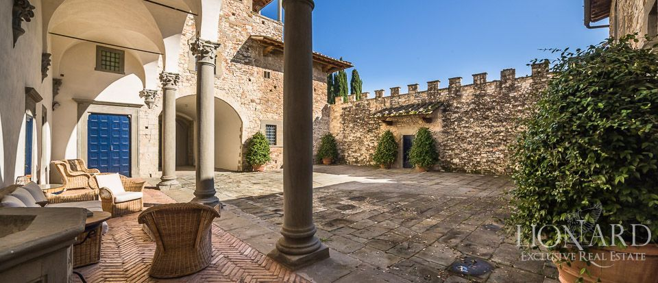 Castle for Sale in Tuscany, in the Chianti area Image 16