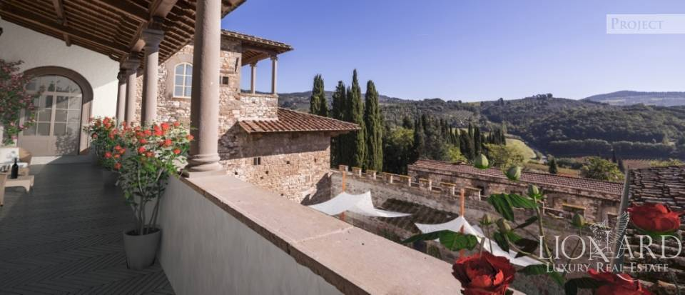 Castle for Sale in Tuscany, in the Chianti area Image 62