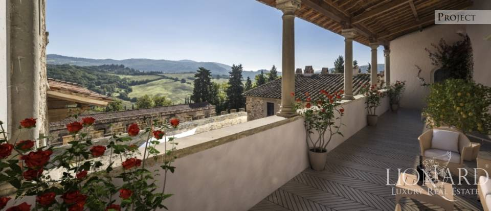 Castle for Sale in Tuscany, in the Chianti area Image 63