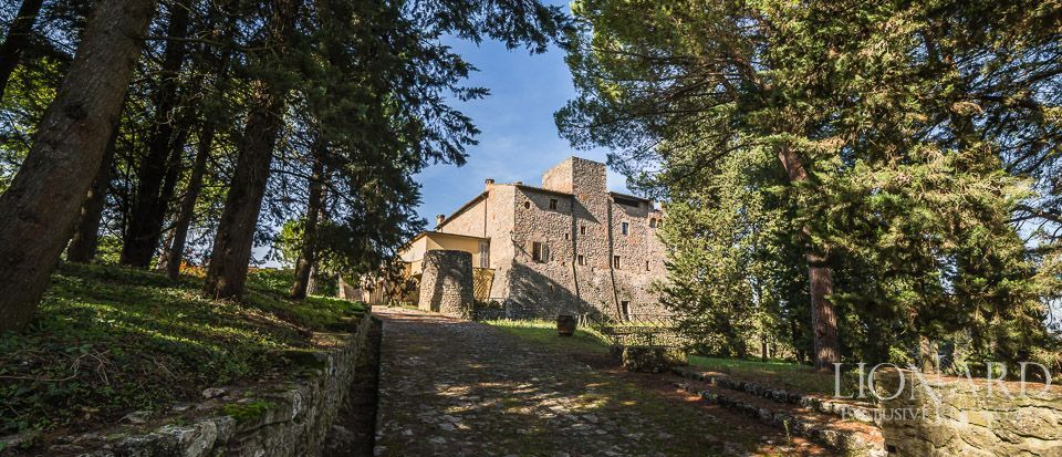 PRESTIGIOUS CASTLE FOR SALE IN SIENA Image 1