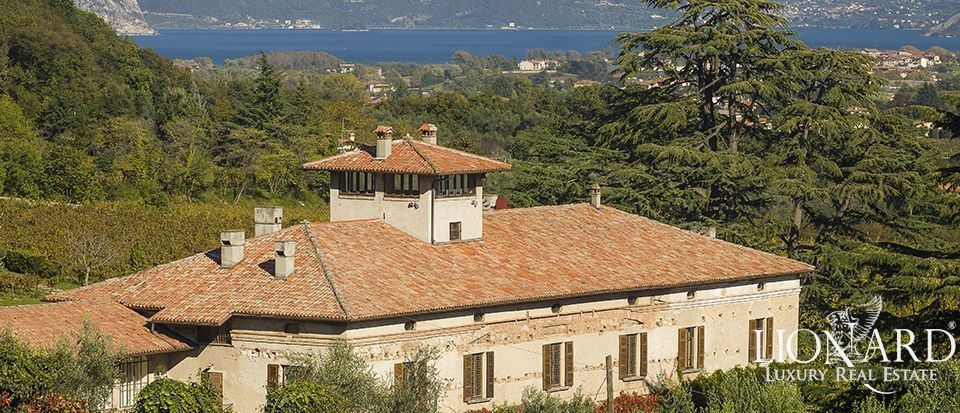 historic residence for sale on lake iseo