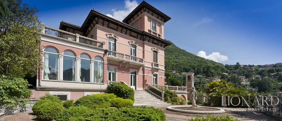 PRESTIGIOUS VILLA FOR SALE ON LAKE COMO Image 1