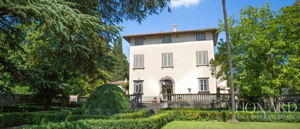 splendid historic villa in lucca