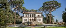 luxury art nouveau villa for sale in pisa