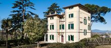luxury villa with pool for sale on the hills of pisa