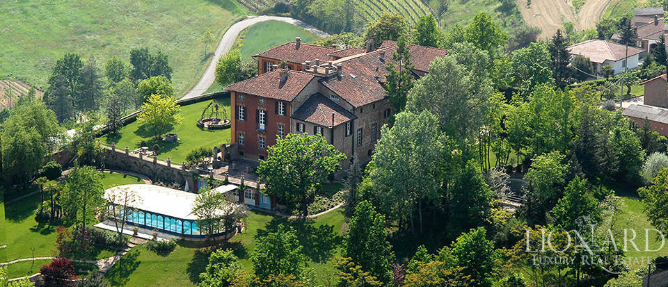 prestigious castle for sale in asti
