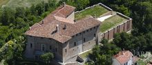 splendid medieval castle for sale in alessandria