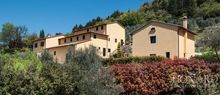 luxurious farmhouse with pool for sale in prato