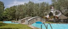luxury house with pool in florence s countryside