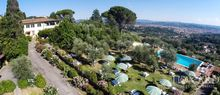 luxury villa for sale with view of florence