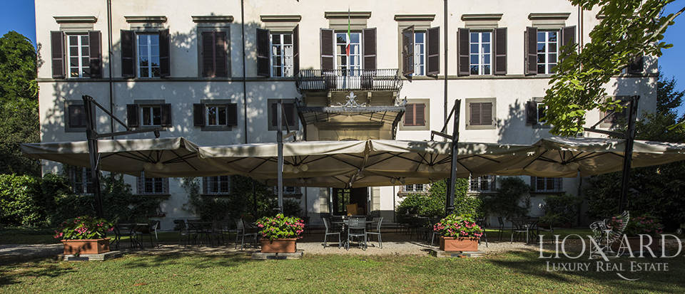Charming hotel in an 18th-century villa in Lucca