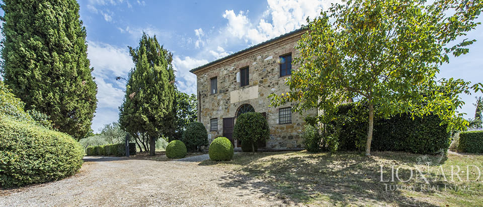 Spectacular estate with swimmin pool in Val D'Orcia