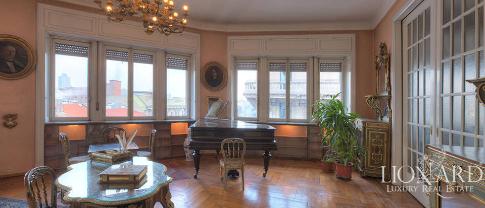 Luxurious apartment for sale in Corso Venezia