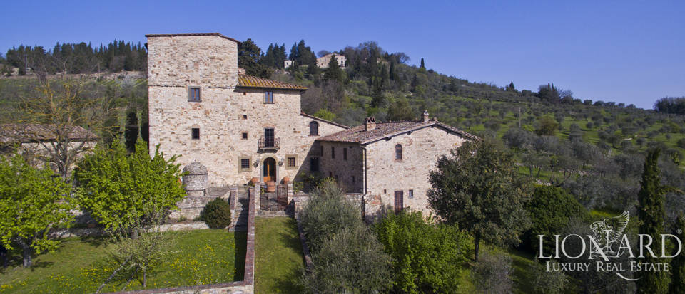 Villa once owned by Michelangelo Buonarroti for sale