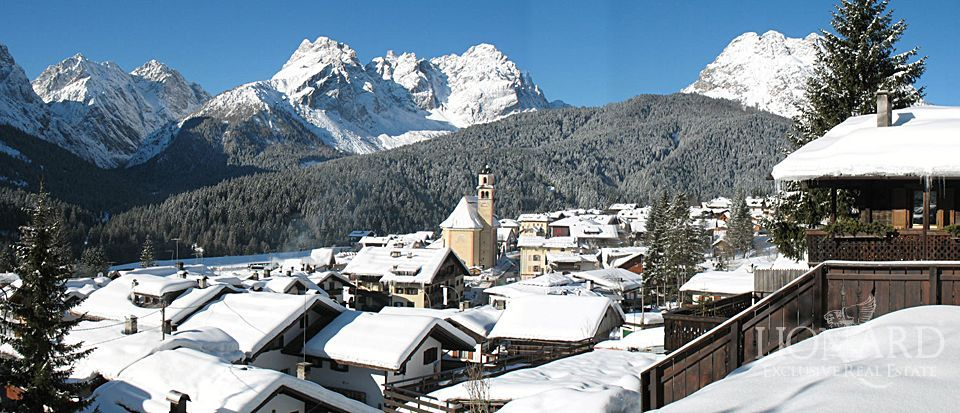 Exclusive homes cortina d 39 ampezzo lionard for Affitto chalet cortina