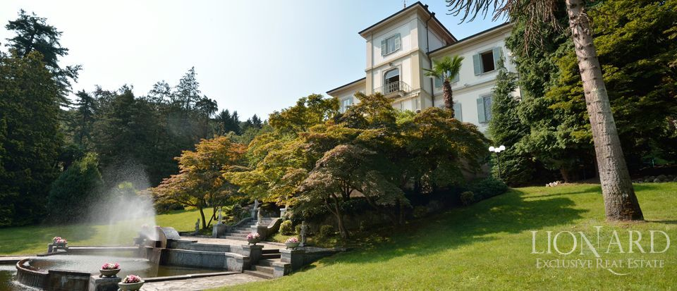 Luxury villa for sale on Lago Maggiore