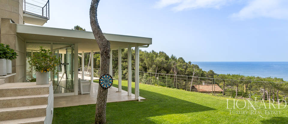 Elegant Villa with Sea View in Castiglioncello